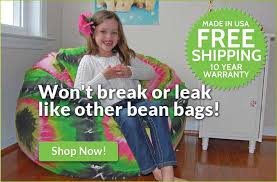 Tie Dye Bean Bag Chair Bean Bag Chairs Washable Bean Bags 10 Yr Warr Made In Usa