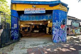 columbia heights garage with beastie boys chuck brown mural the new development that will be located on the site will be a mixed use project with office and residential space