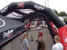 inmotion air inflatable batting cage for collegiate or traveling teams