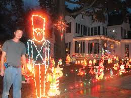christmas house lights up louisville the news and farmer