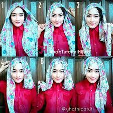 tutorial jilbab segi 4 untuk kebaya tutorial hijab segi empat simple tapi mewah dan elegant http