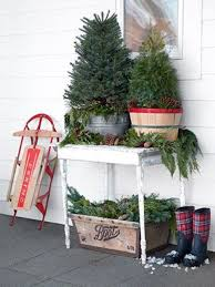 Outdoor Christmas Decorations Ideas Porch by