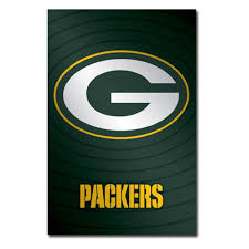 Green Bay Packer Flag Green Bay Packers Logo 11 Wall Poster