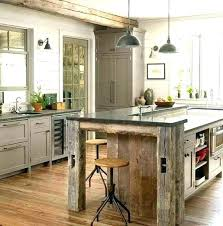 reclaimed kitchen island reclaimed wood kitchen island charming modern hamilton marble top