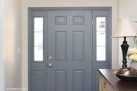 Front Door Interior Entryway Foyer Makeover How To Nest For Less