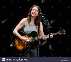ani difranco performs on stage at the winter garden theatre