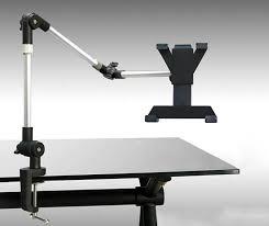 Microphone Desk Arm Armbot Tablet Arm Dual Hinge Desk Mount Desk Stand Desk Stands