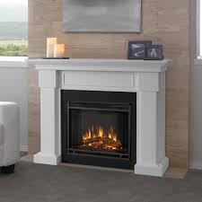 real flame hillcrest 48 inch electric fireplace with mantel