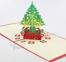 new design decoration christmas paper gift 3d card buy cards