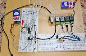 dtmf based home automation project with circuit diagram