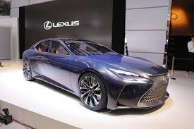 lexus lf lc fiche technique lexus lf fc concept la future lexus ls au salon de toyo 2015 l
