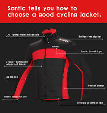 cycling coat santic fleece thermal winter cycling jacket cotton coat sales