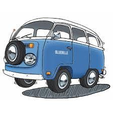 volkswagen van cartoon bluebelle records home facebook