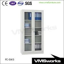 stainless steel filing cabinet china stainless steel sliding galss door filing storage cabinets
