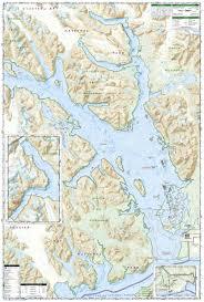 Denali National Park Map Glacier Bay National Park And Preserve National Geographic Trails