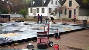 williamsburg skating rink construction daily press