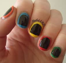 nail art for short nails 2 guitar hero nails