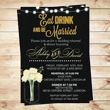 Eat Drink And Be Married Invitations Shop Mason Jar Wedding Invitations On Wanelo