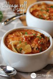 cabbage roll soup recipe video spend with pennies