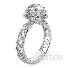 engagement rings flower design new flower designed rings engagement ring in