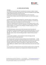 u u0026c wireless network smart metering technology guide