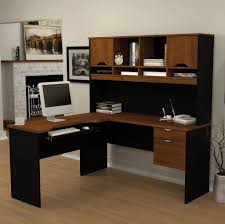 Computer Corner Desk With Hutch by Furniture Cheap L Shaped Computer Corner Desk For Home Office