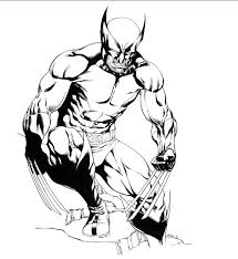 wolverine coloring pages angry coloringstar