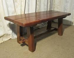 rustic oak coffee table a charming french rustic oak coffee table antiques atlas