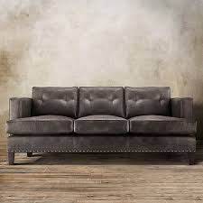 Bonded Leather Sofa Durability Embracing Mid Century Modern Style The Arhaus Flanders 84