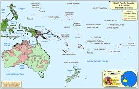 Map Of Oceania The South Pacific Islands Map My Blog