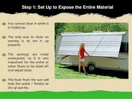 Best Way To Clean Rv Awning 5 Easy Steps To Clean Caravan Awnings