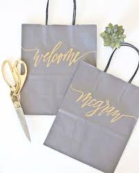 bridal shower gift bags custom gift bags gray gift bags wedding gift bags bridal