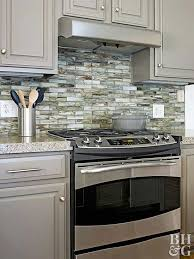 modern backsplash for kitchen kitchen backsplash ideas better homes gardens