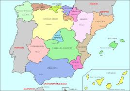Spain Regions Map by Historical Maps Of Spain And Portugal