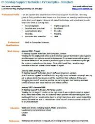 Technician Resume Examples by Desktop Support Technician Resume U2013 Resume Examples