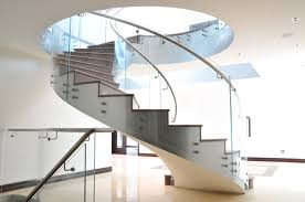 interior design modern spiral staircase with slide with stainless