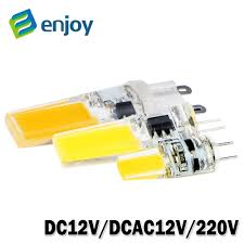 led g4 g9 lamp bulb ac dc 12v 220v 6w 9w cob smd led lighting