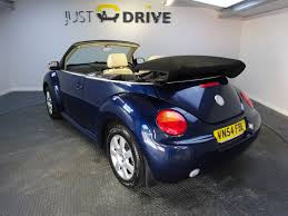 blue volkswagen beetle for sale volkswagen beetle cabriolet 1 9 tdi 100ps 2d for sale parkers