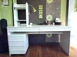 bureau blanc brillant ikea bureau blanc velove me