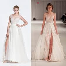 wedding dress ebay white new custom size bridal gowns appliqued chiffon a line