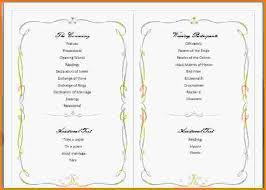 wedding program templates word program template word family wedding 2 jpg letter template word