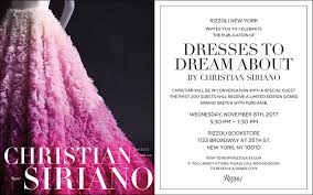 dresses to dream about with christian siriano and coco rocha