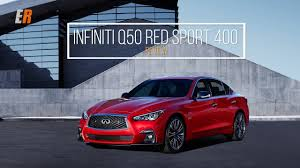 2018 infiniti q50 review red sport 400 youtube