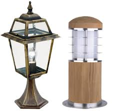 Led Pedestal Light Outdoor Lights From Easy Lighting