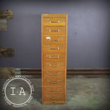 Globe Wernicke File Cabinet For Sale by Vintage Industrial Globe Wernicke Card Catalog Library File