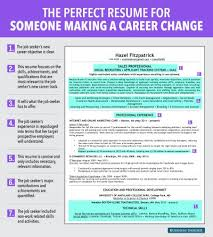 career change resume 7 reasons this is an excellent resume for someone a career