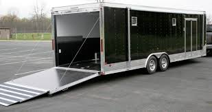 Cargo Trailer Awning Race Car Trailer Awnings Trailer Customization Proline Options