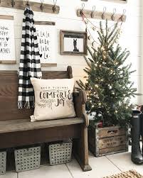 White Christmas Lights Decorations by Best 25 Farmhouse Christmas Decor Ideas On Pinterest Pictures