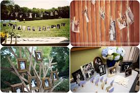 how to at a wedding unique wedding idea displaying family pictures budget brides