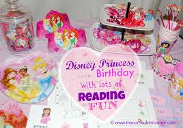 a disney princess birthday reading celebration the curriculum